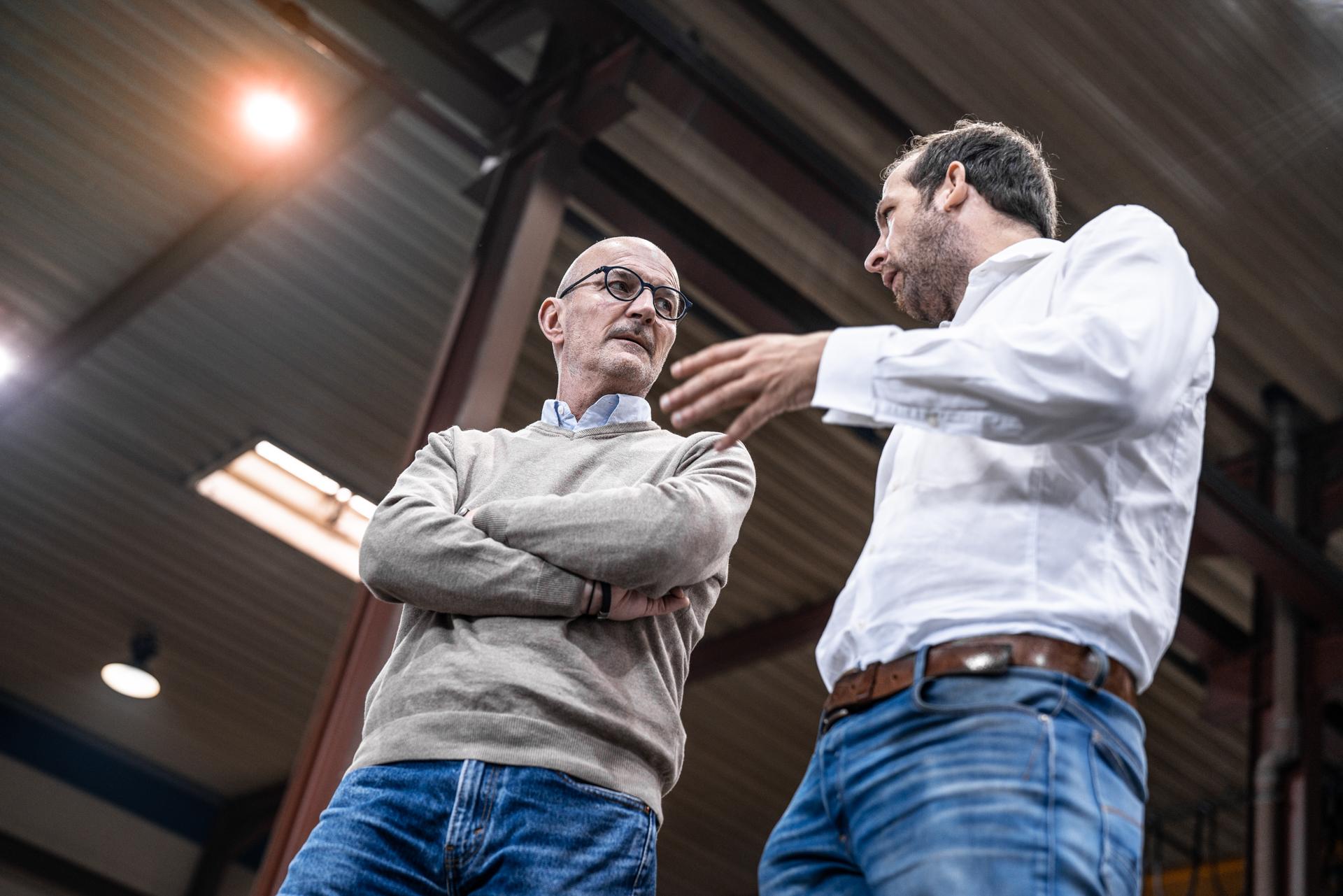 Besprechung zum Thema Stahlrohre in Gladbach